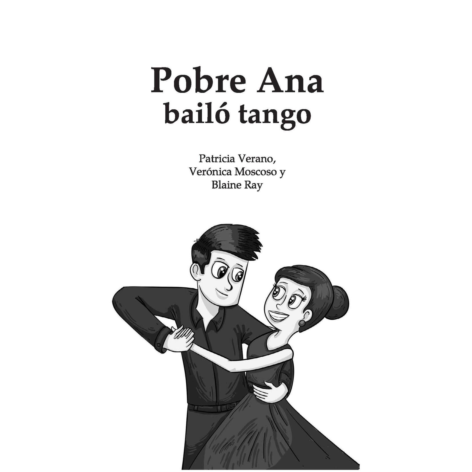TPRS Books Pobre Ana bailó tango