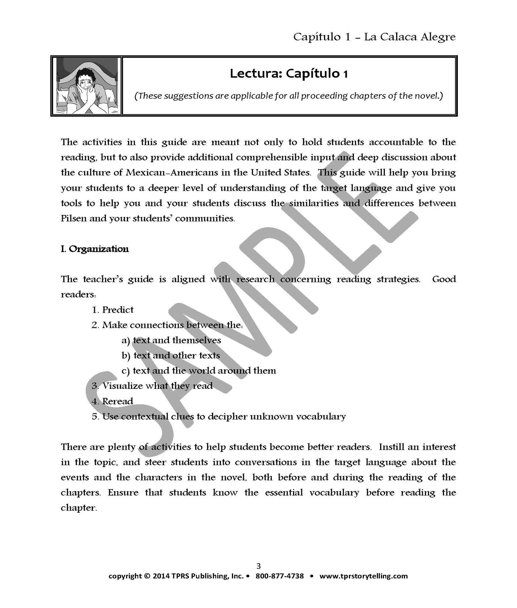 La Calaca Alegre - Teacher's Guide on CD