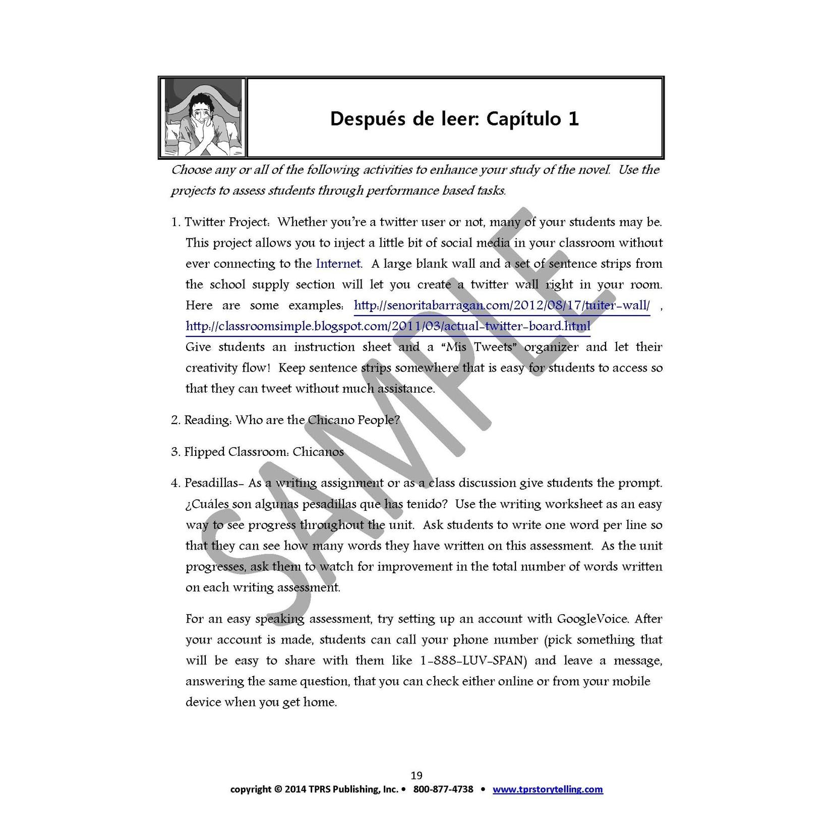 Fluency Matters La Calaca Alegre - Teacher's Guide on CD