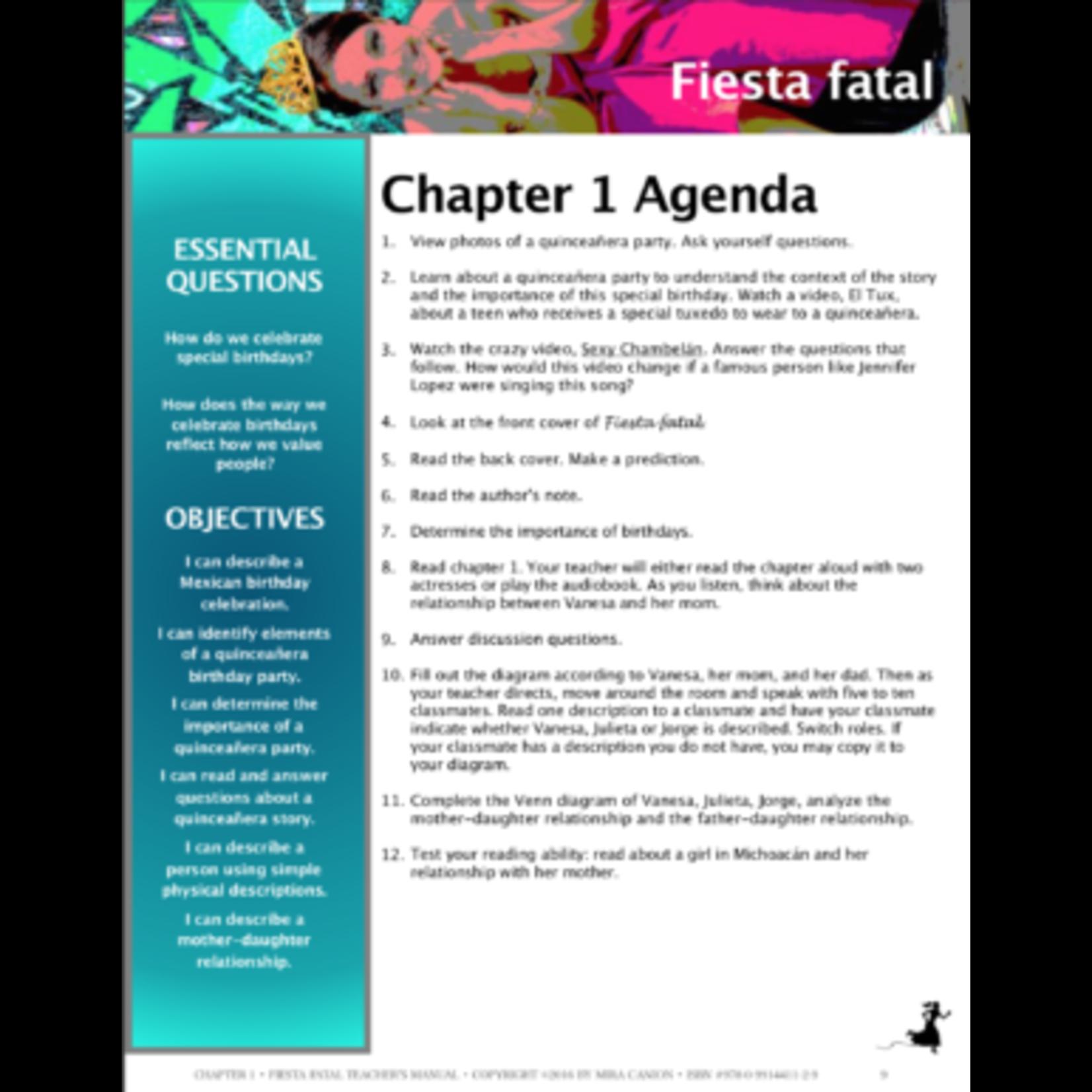Mira Canion Fiesta Fatal - Docentenhandleiding