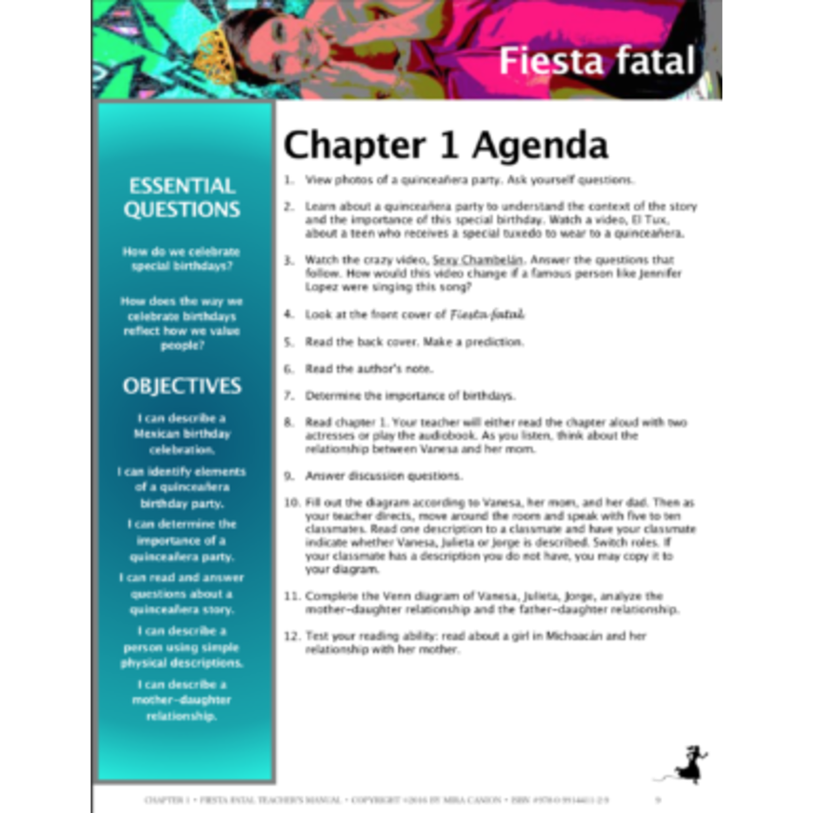 Mira Canion Fiesta Fatal - Teacher's Guide on CD