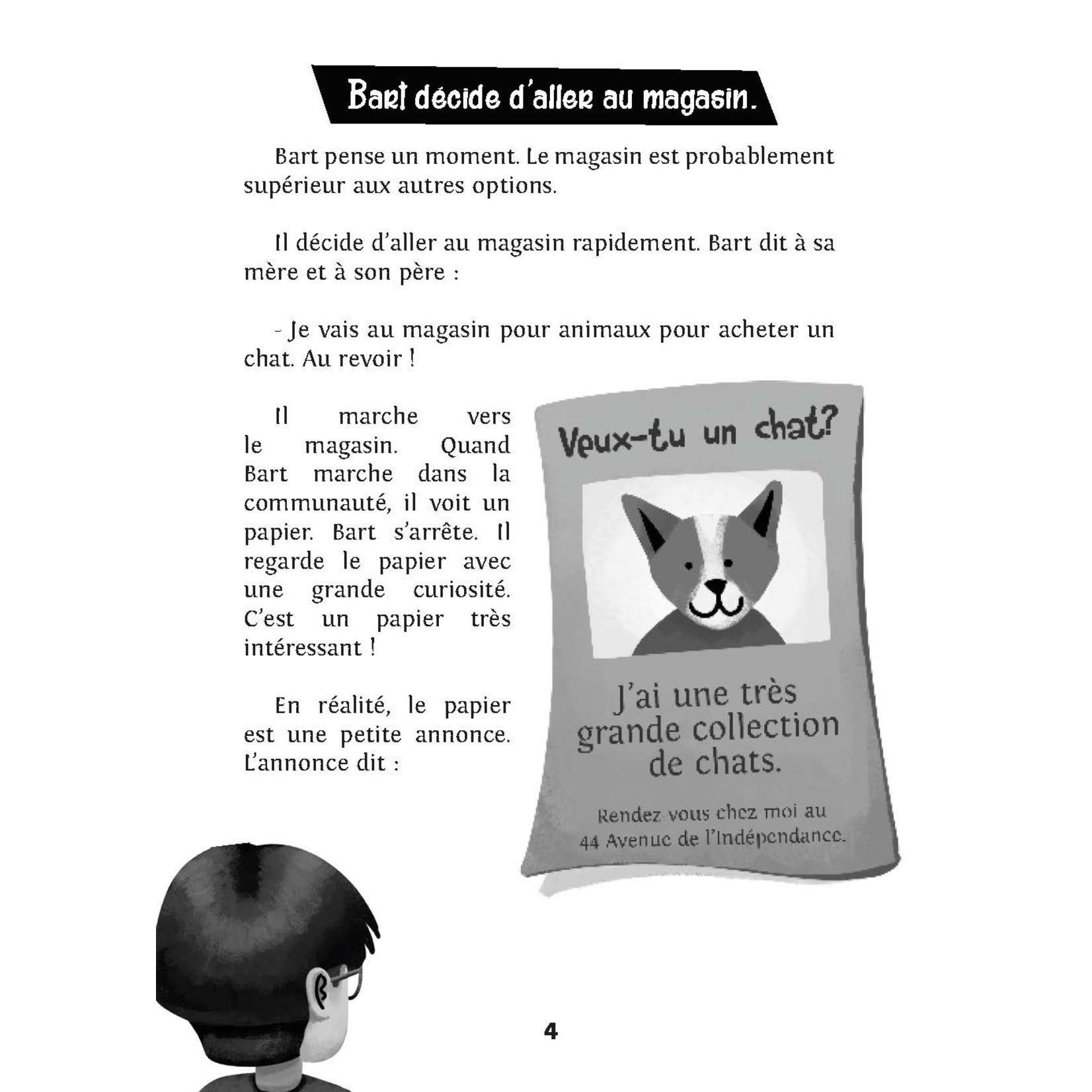 TPRS Books Bart veut un chat