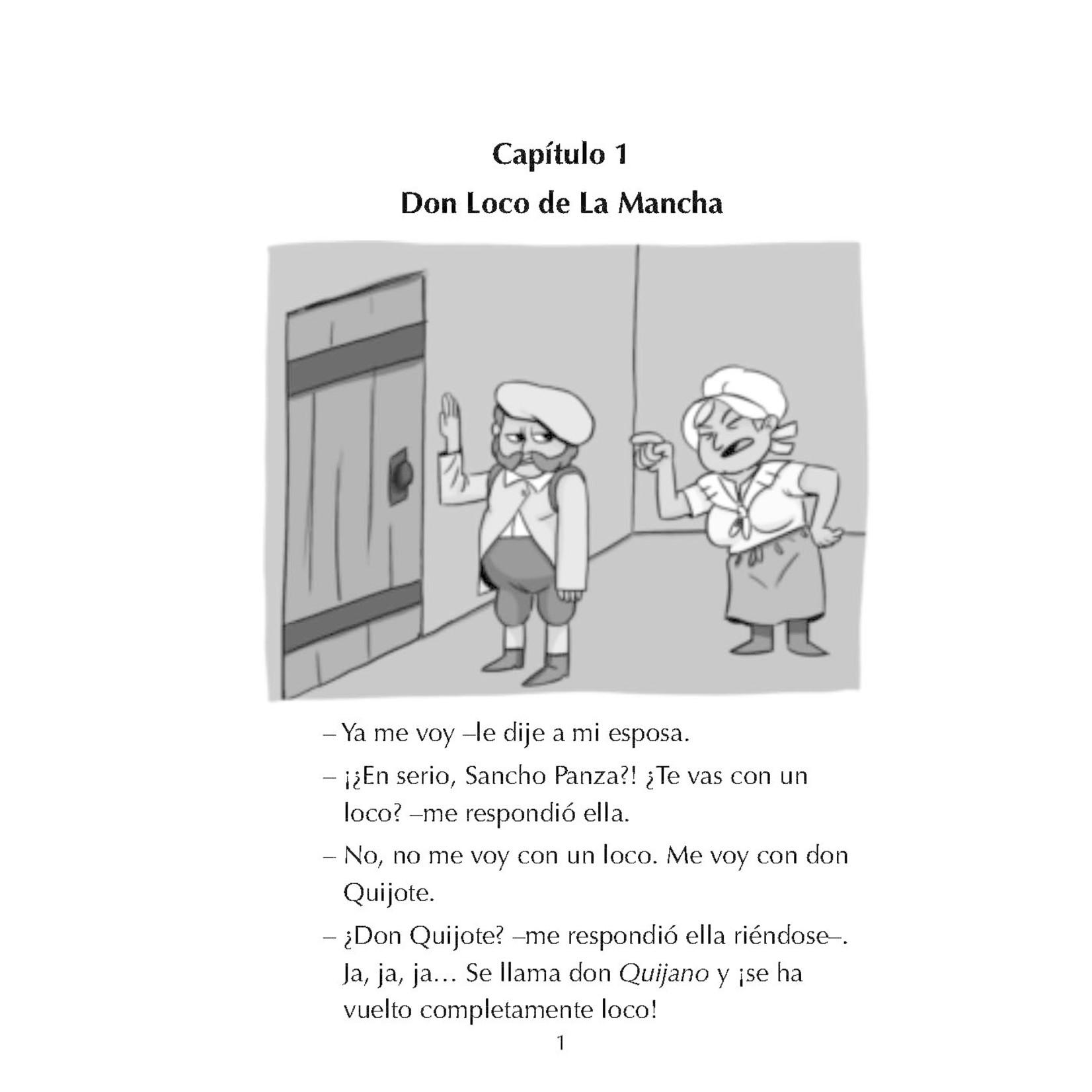 Fluency Matters Las aventuras de Don Quijote de la Mancha