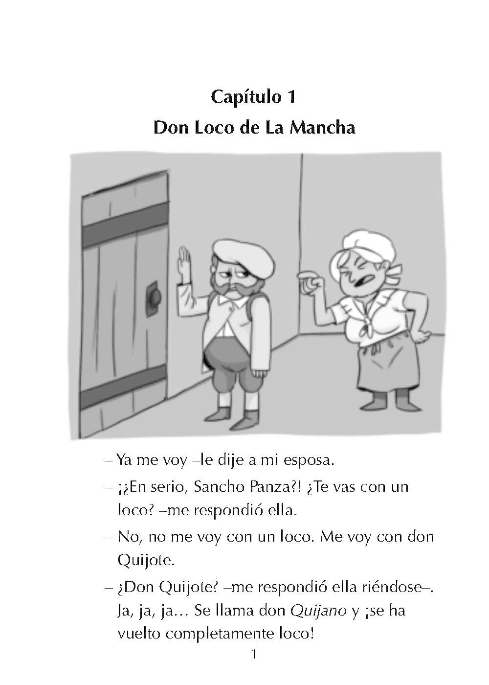 Las aventuras de Don Quijote de la Mancha