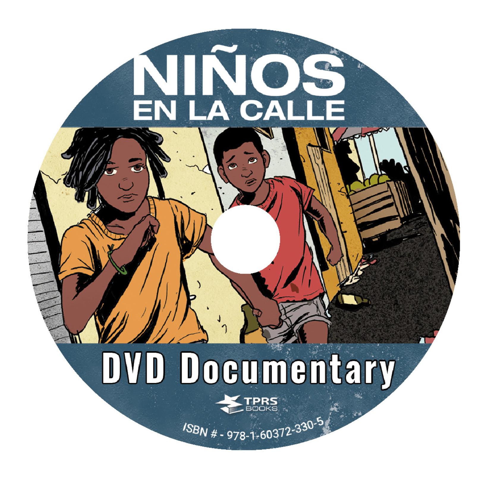 Chris Mercer Books Niños en la calle - Documentaire op DVD