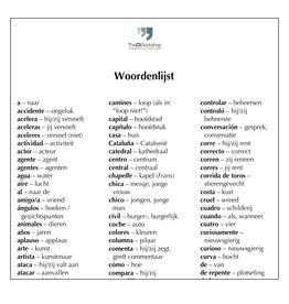 Woordenlijst El capibara con botas