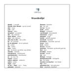 Woordenlijst Neue Schule, neue Freunde