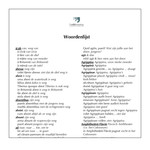 Dutch glossary for Quīntus et nox horrifica