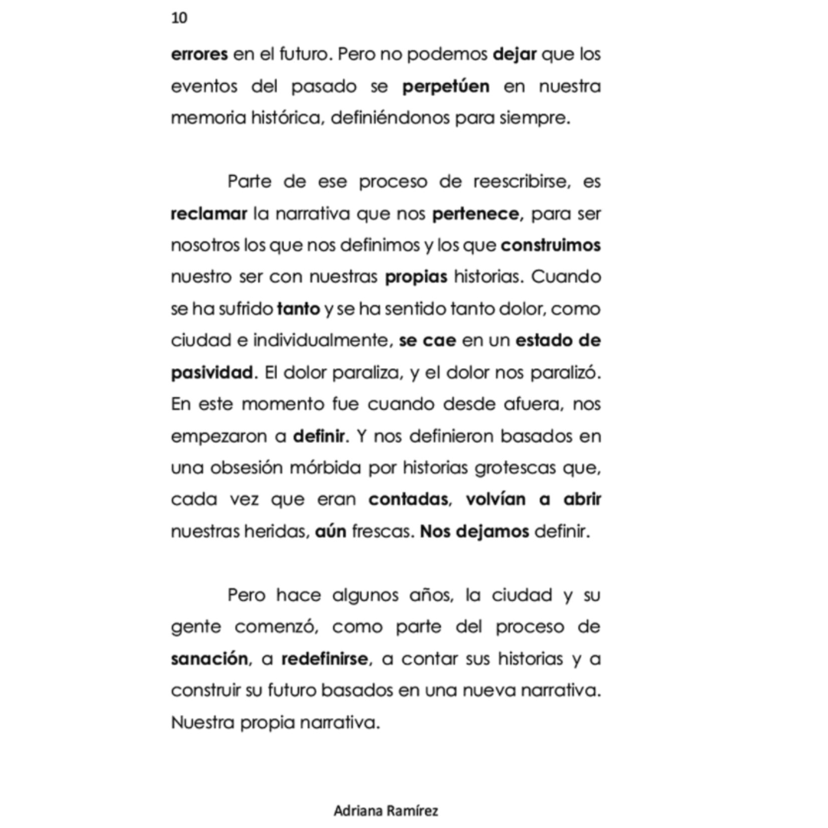 Adriana Ramirez Es posible soñar