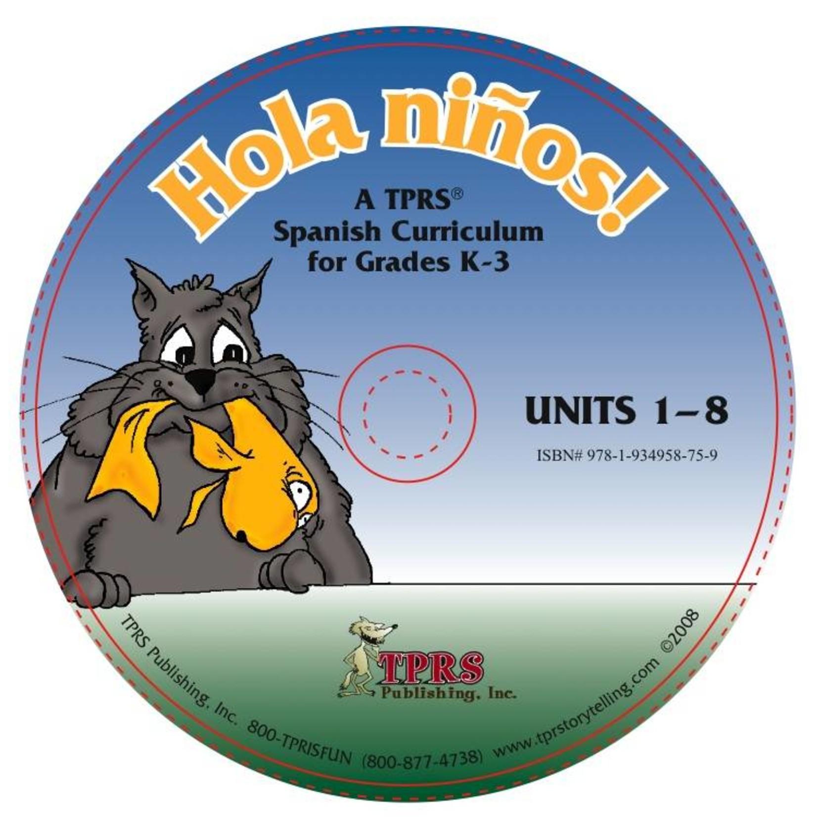 Fluency Matters ¡Hola niños! Units 1-8 on CD