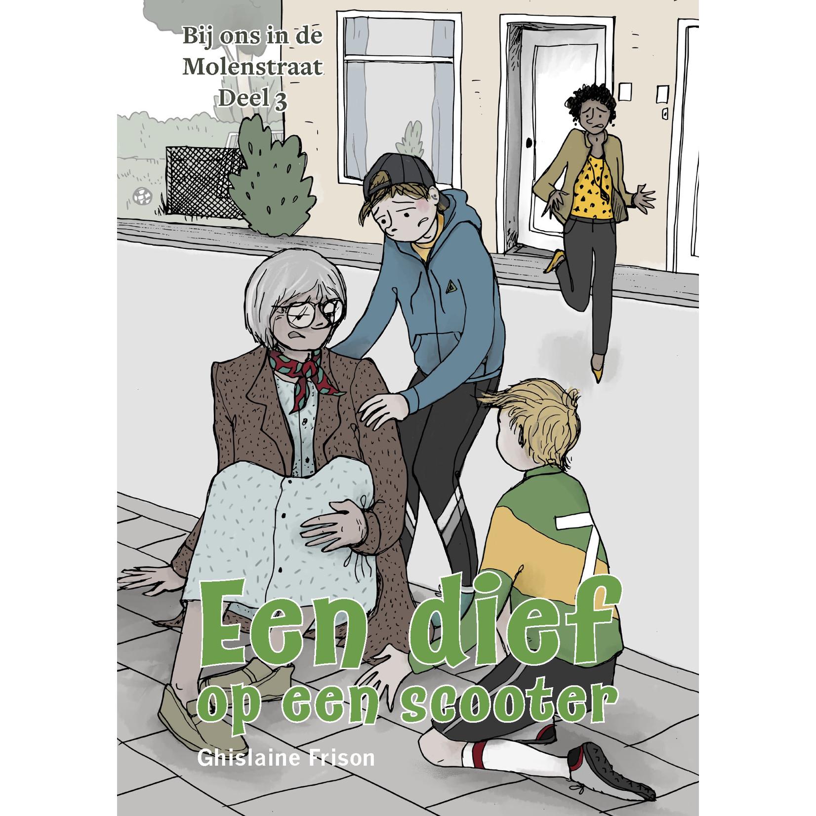 Arcos Publishers Een dief op een scooter