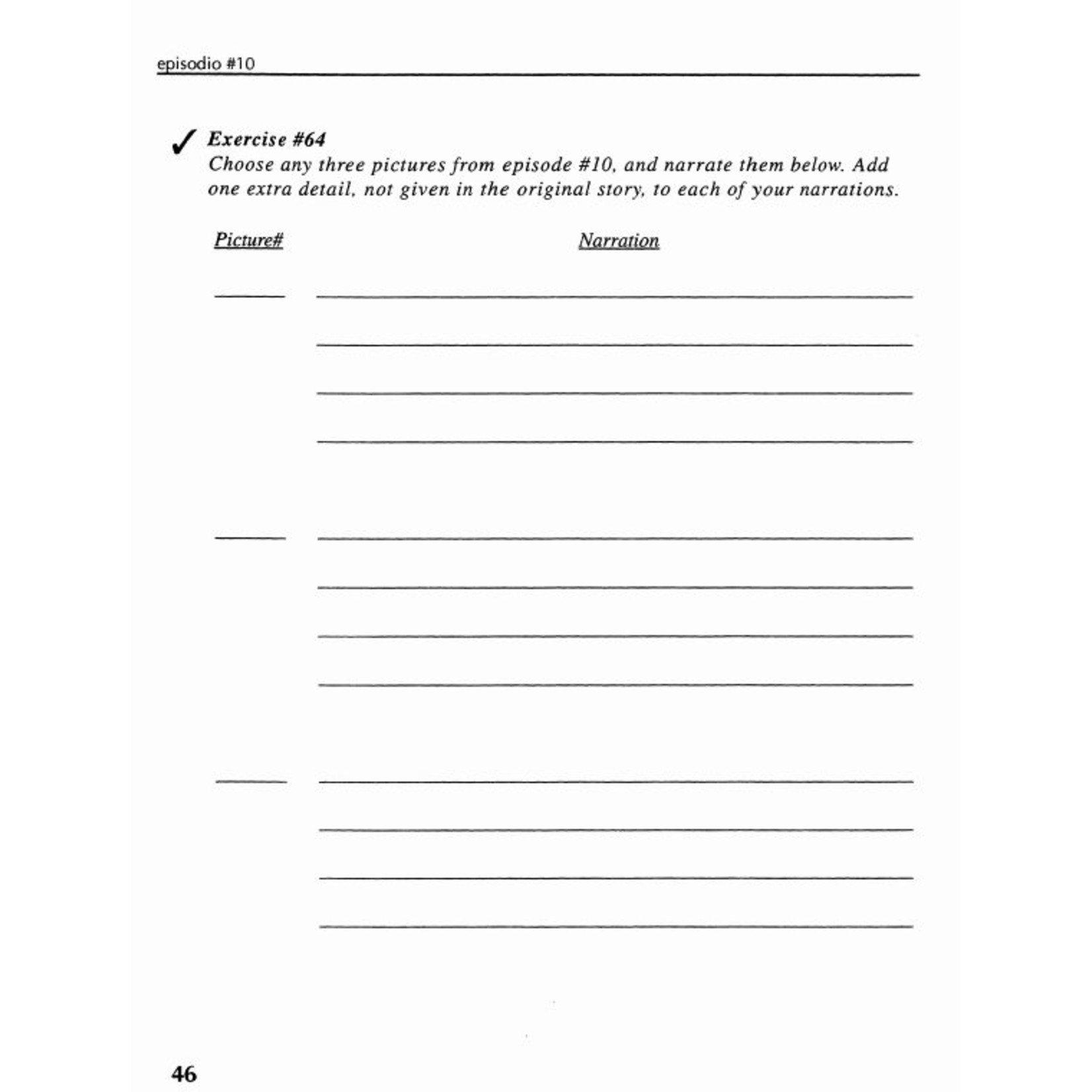 Fluency Matters ¡Cuéntame! Student Textbook