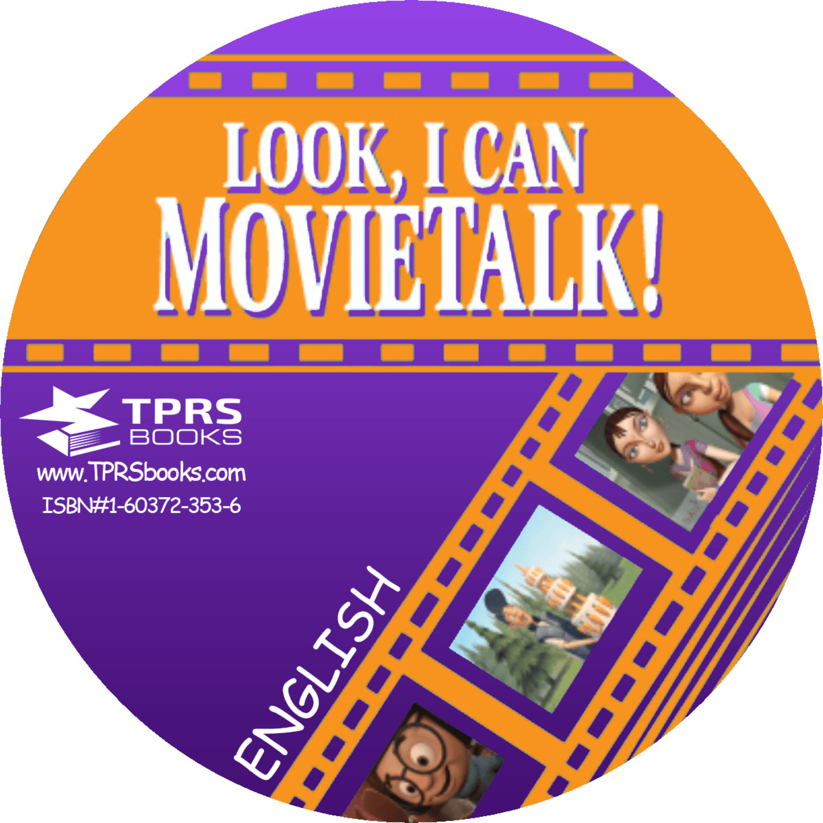 TPRS Books Look, I Can Movietalk! - English