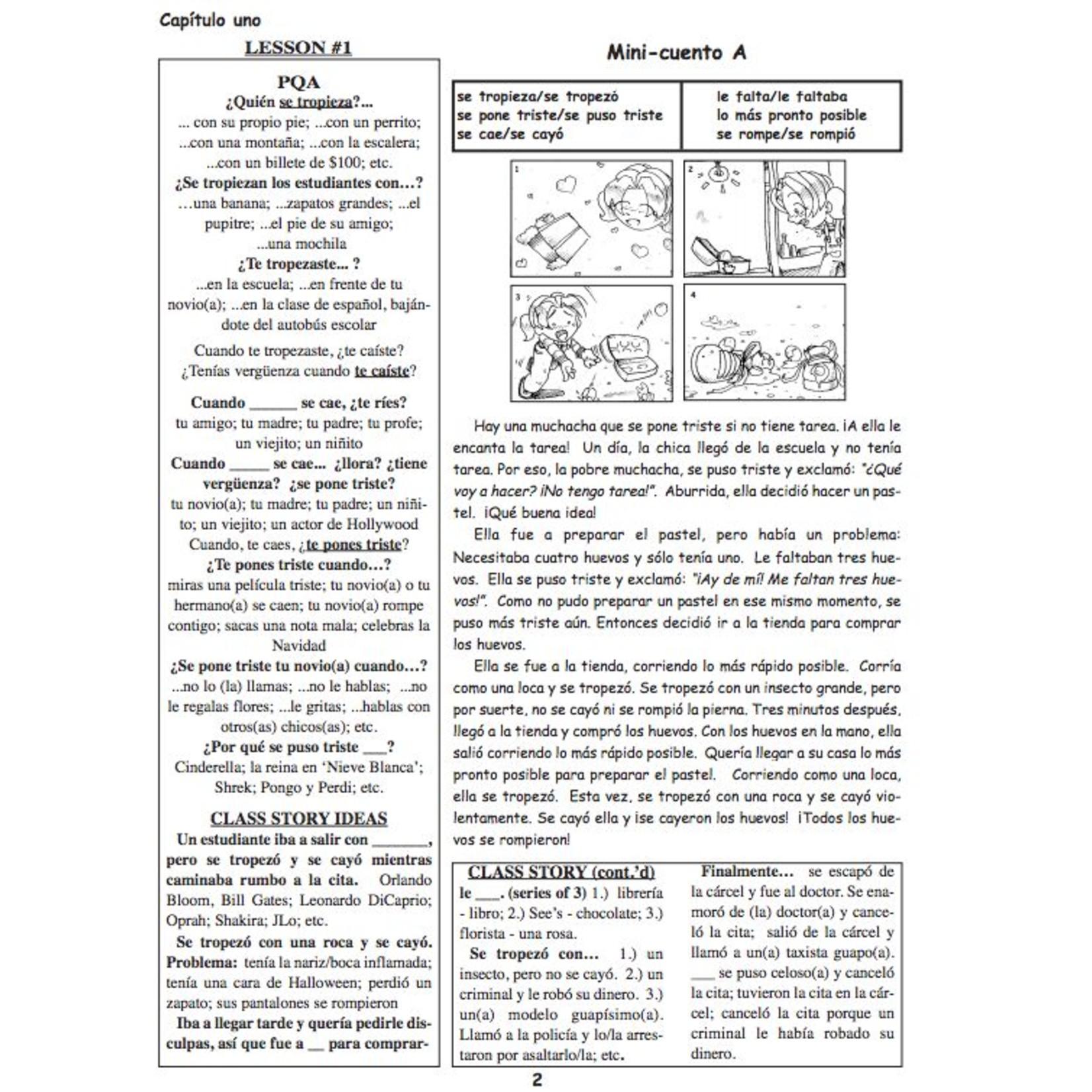Fluency Matters ¡Cuéntame mucho! Teacher's Manual