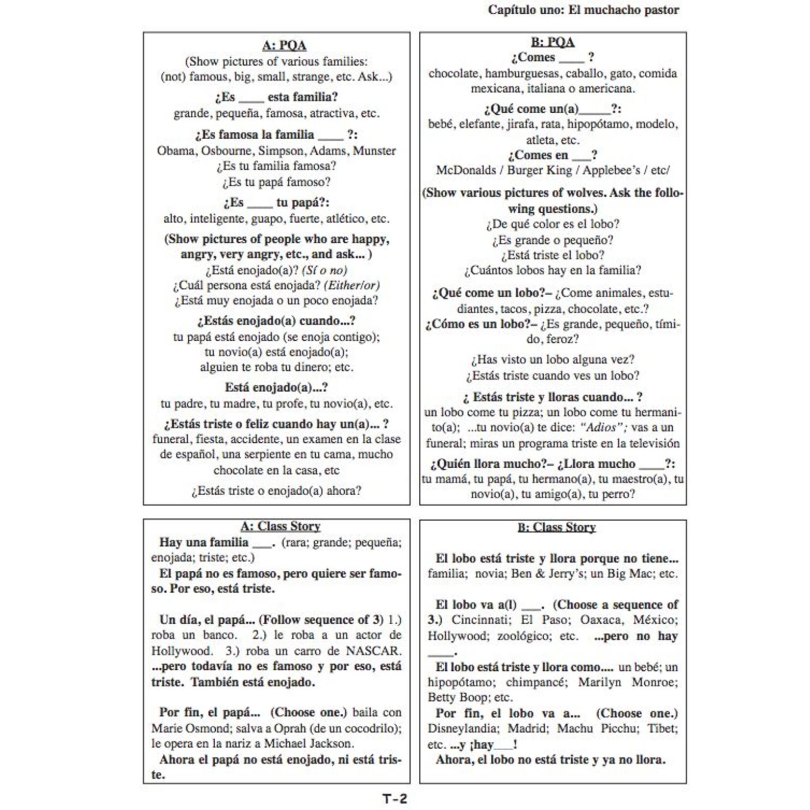 Fluency Matters The NEW ¡Cuéntame más! Teacher's Manual