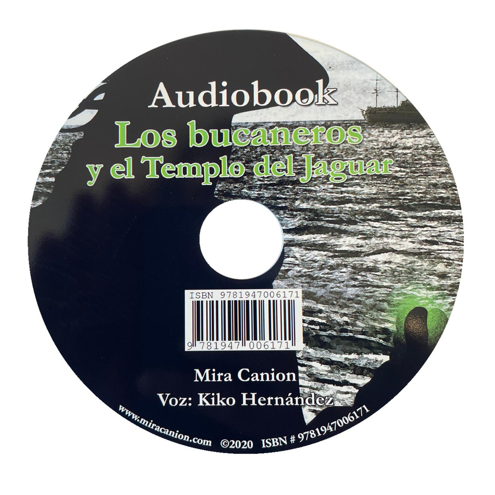 Mira Canion Los bucaneros y el templo del jaguar - Luisterboek