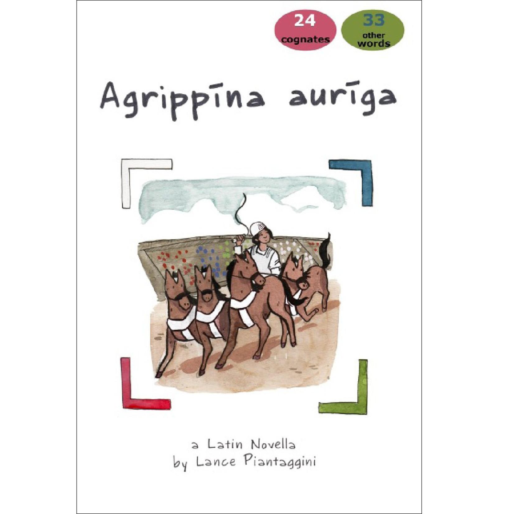 Magister P Agrippīna auriga