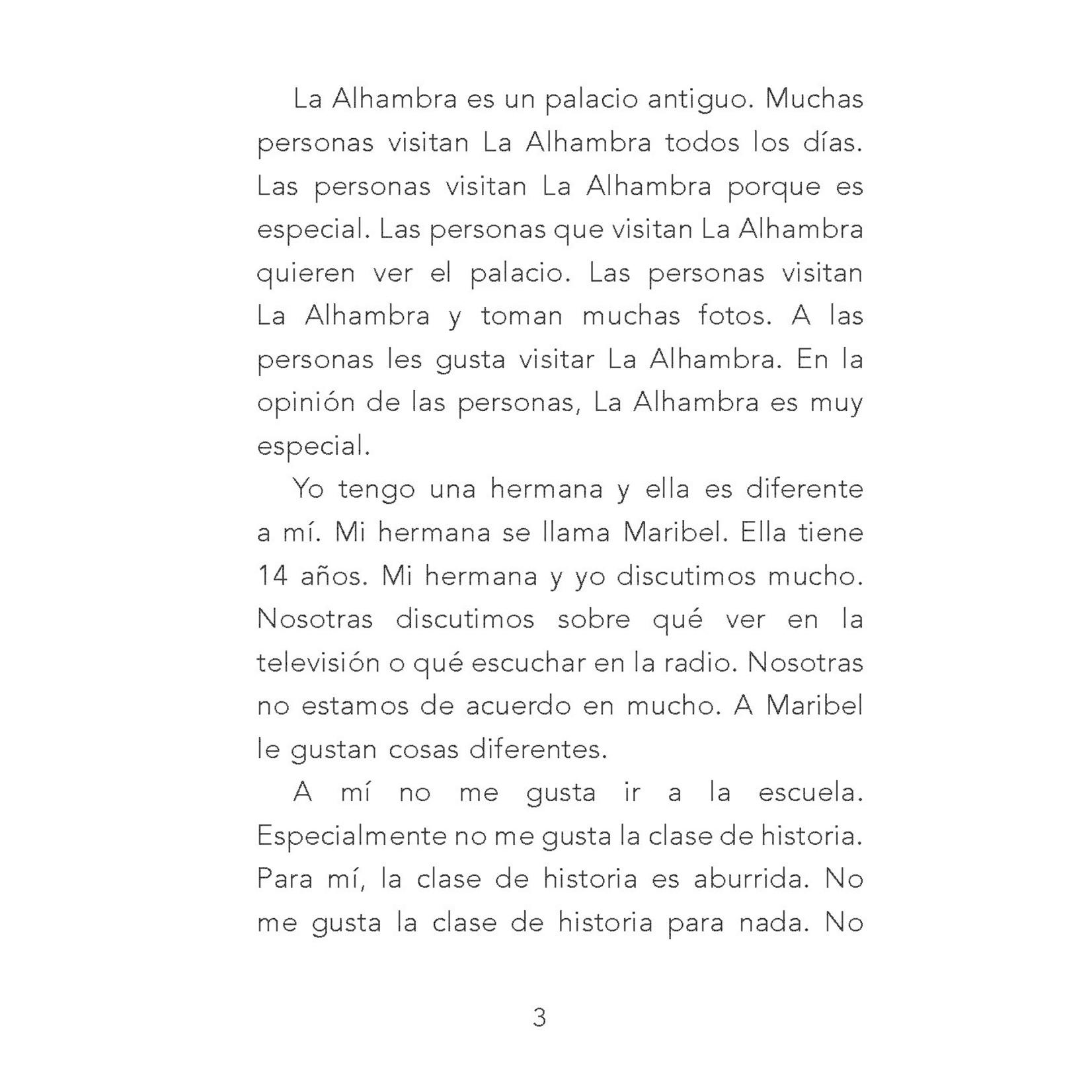 TPRS Books Los secretos de la Alhambra