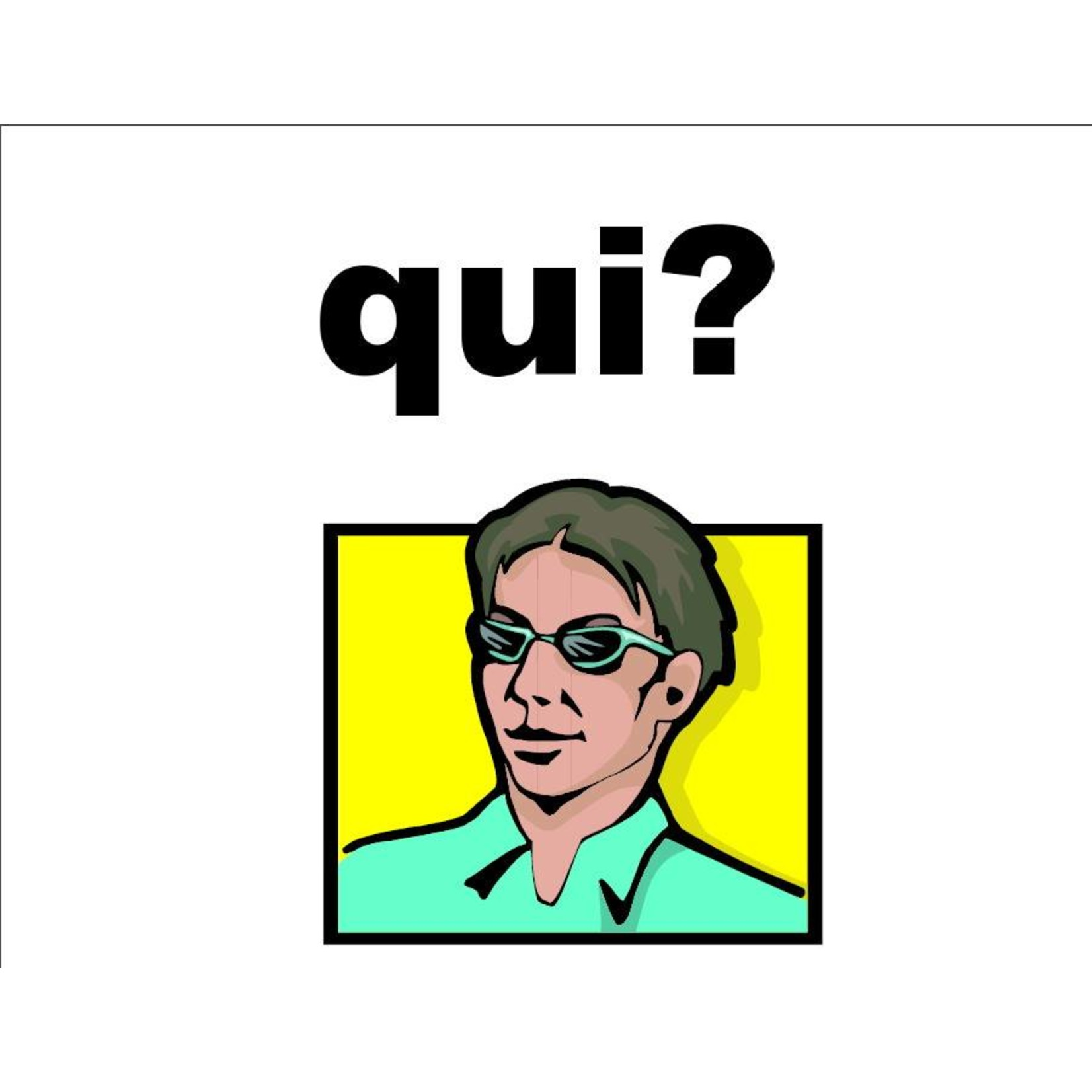 Immediate Immersion Free question word posters - Choose your language!