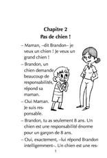 Brandon Brown veut un chien
