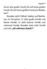 Brandon Brown will einen Hund