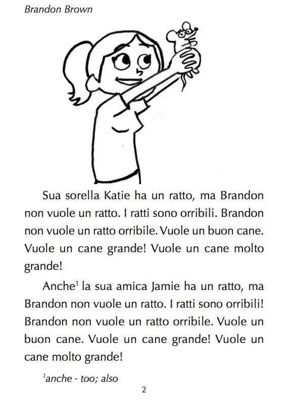 Brandon Brown vuole un cane
