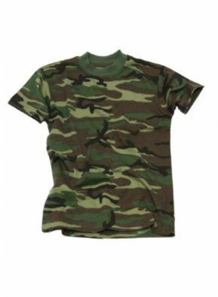 Kinder t-shirt camo