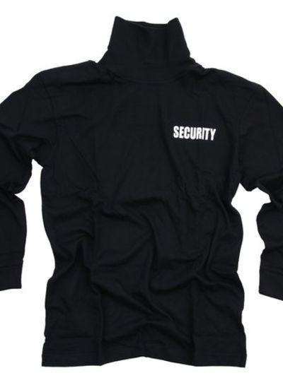T-shirt security lange mouw