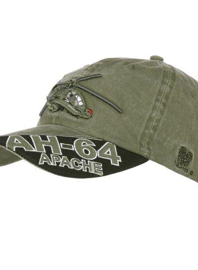 Baseball cap AH-64 Apache stone washed