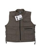 Reporter Vest Olive 10 pockets