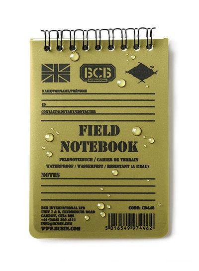 BCB field notitieblok waterproof