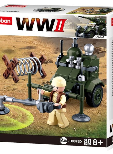 Sluban WWII Allied minesweeper M38-B0678D #16109