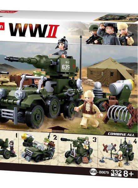 Sluban WWII Giftbox 4 in 1 M38-B0679 #16124