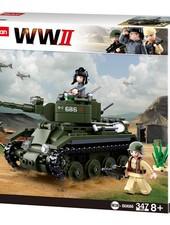 Sluban WWII Allied cavalry tank M38-B0686 #16115