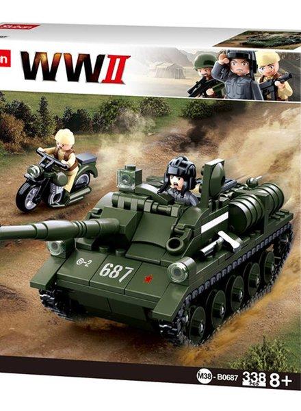 Sluban WWII Destroyer M38-B0687 #16102