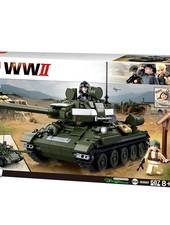 Sluban WWII Allied tank hunter M38-B0689 #16144