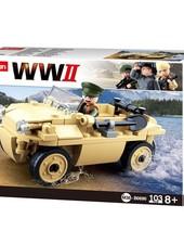 Sluban WWII German amphibious vehicle M38-B0690 #16118