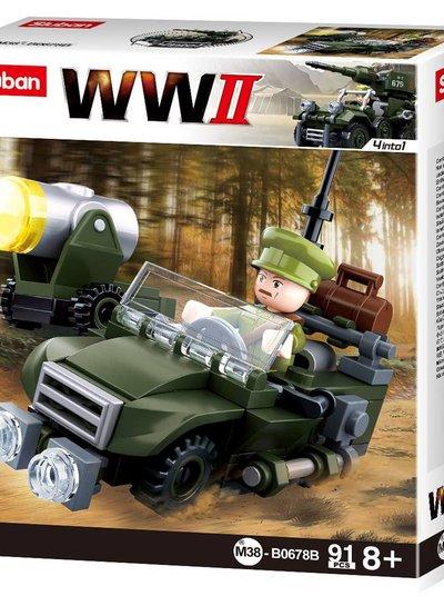 Sluban WWII 4in1 Army model B M38-B0678B #16131