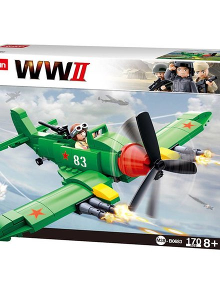 Sluban WWII Allied Ground-Attack Aircraft M38-B0683 #16093