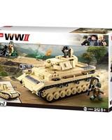 Sluban WWII German Tank M38-B0693 #16110