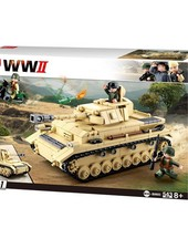 Sluban WWII German Tank M38-B0693 #16110