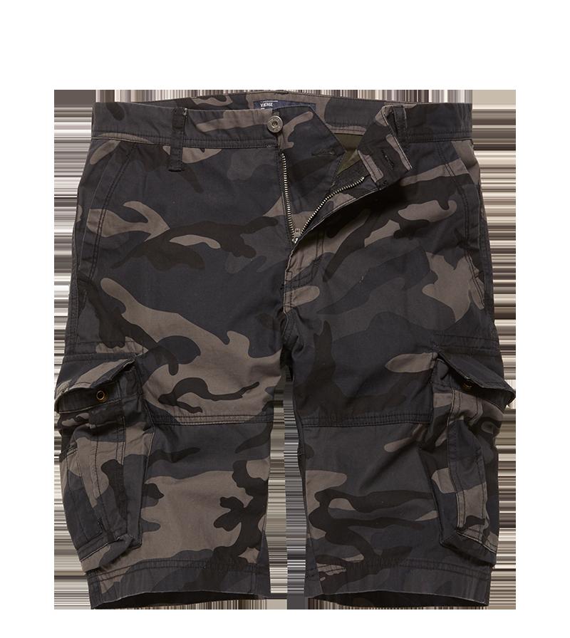 Rowin Shorts Night Camouflage Legerdumphandel.nl