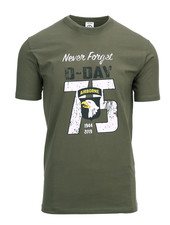T-shirt D-Day 75 years Groen