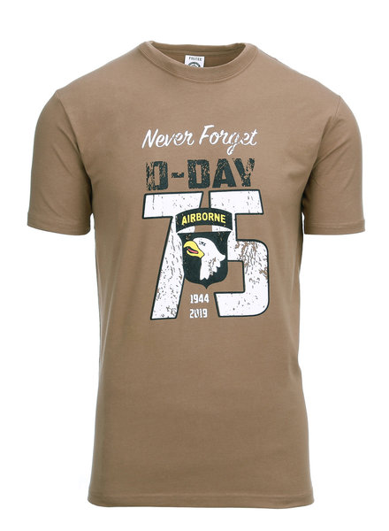 T-shirt D-Day 75 years Coyote