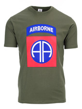 T-shirt 82nd Airborne big logo