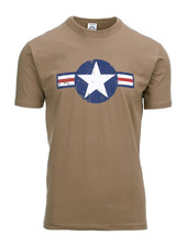 T-shirt WW II coyote
