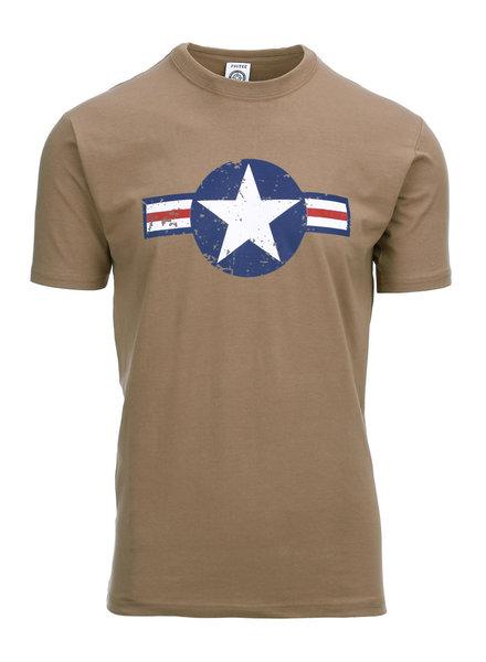 T-shirt WW II coyote
