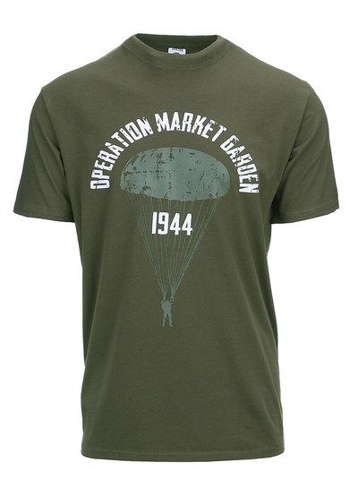 T-shirt Operation Market Garden Groen