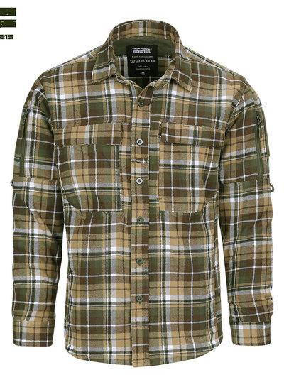 Flanel contractor overhemd