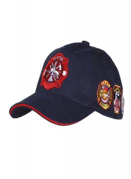 Baseball cap NYFD patches